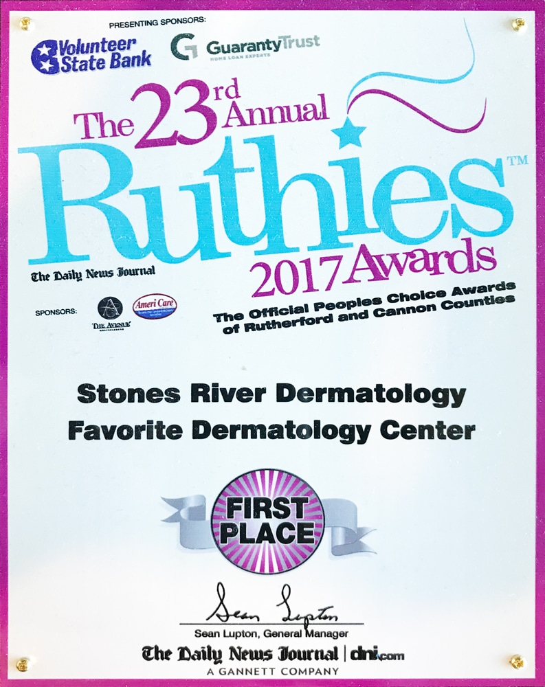 2017 Ruthies awards first place winner